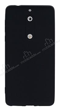 Nokia 5 Mat Siyah Silikon Kılıf