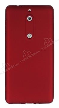 Nokia 5 Mat Kırmızı Silikon Kılıf