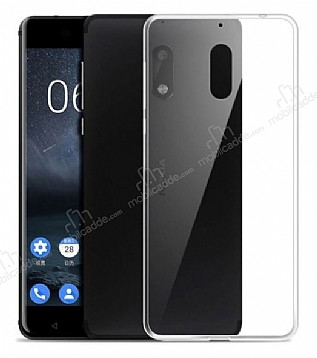 Nokia 6 Ultra İnce Şeffaf Silikon Kılıf
