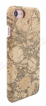 NY Cork iPhone 7 / 8 Natural Mantar Kaplama Premium Kılıf