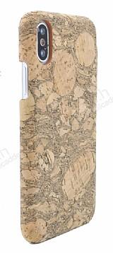 NY Cork iPhone X / XS Natural Mantar Kaplama Premium Kılıf