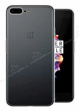 OnePlus 5 Ultra İnce Şeffaf Silikon Kılıf