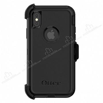 OtterBox Defender iPhone X Siyah Kılıf