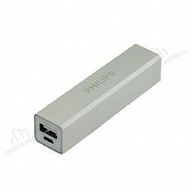 Philips 2600 mAh Powerbank Gri Yedek Batarya