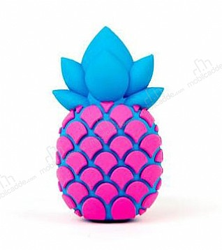 Pineapple 2600 mAh Powerbank Pembe Yedek Batarya