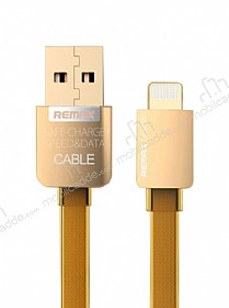 Remax Safe & Speed Lightning USB Gold Data Kablosu 1m