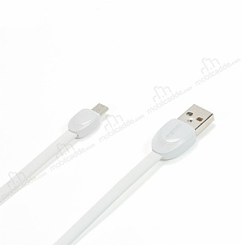 Remax Shell Micro USB Dayanaklı Beyaz Data Kablosu 1m
