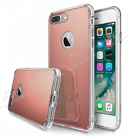 Ringke Mirror iPhone 7 Plus Ultra Koruma Rose Gold Kılıf