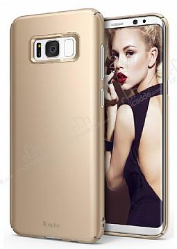 Ringke Slim Samsung Galaxy S8 Plus 360 Kenar Koruma Gold Kılıf