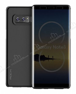 Rock Samsung Galaxy Note 8 Manyetik Kapaklı Siyah Kılıf