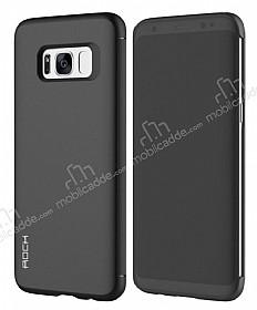 Dafoni Samsung Galaxy S8 Manyetik Kapaklı Siyah Kılıf