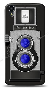 Alcatel OneTouch idol 3 5.5 Retro Camera Kılıf