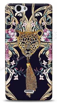 Casper Via V5 Glory Leopard Taşlı Kılıf