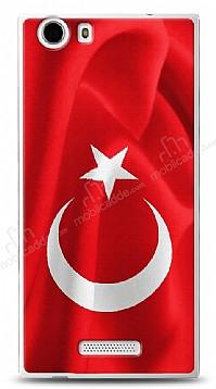 Casper Via V6X Türk Bayrağı Kılıf