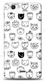 Casper Via V8C Cute Cats Kılıf