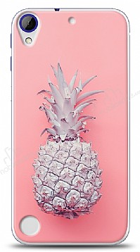 HTC Desire 830 Pink Ananas Kılıf