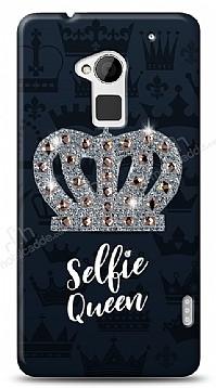 HTC One Max Selfie Queen Taşlı Kılıf