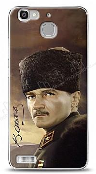 Huawei GR3 Asker Atatürk Kılıf