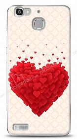 Huawei GR3 Love Leafs Kılıf