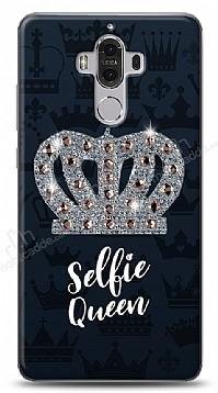 Huawei Mate 9 Selfie Queen Taşlı Kılıf