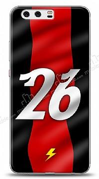 Huawei P10 Kırmızı Şimşekler Kılıf