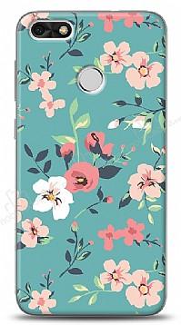 Huawei P9 Lite Mini Çiçek Desenli 1 Kılıf