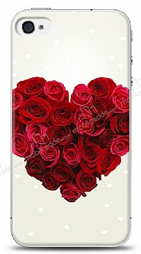 iPhone 4 / 4S Rose Love 1 Kılıf