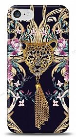 iPhone 7 Glory Leopard Taşlı Kılıf