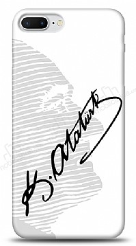 iPhone 7 Plus / 8 Plus Atatürk Silüet İmza Kılıf