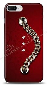 iPhone 7 Plus /8 Plus Ring Shine Taşlı Metal Askılı Kılıf