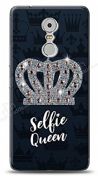 Lenovo K6 Note Selfie Queen Taşlı Kılıf