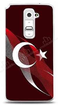 LG G2 Bayrak Çizgiler Kılıf