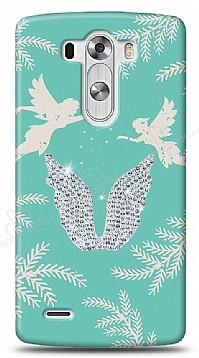 LG G3 Fairy Crystal Taşlı Kılıf