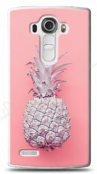 LG G4 Pink Ananas Kılıf