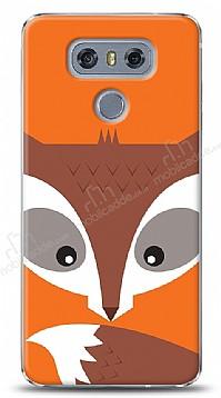 LG G6 Big Face Fox Kılıf
