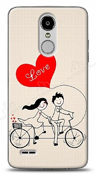 LG K10 2017 Love Bike Couple Kılıf
