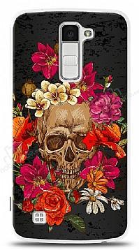 LG K10 Roses Skull 1 Kılıf