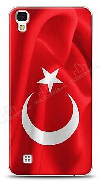 LG X Power Türk Bayrağı Kılıf