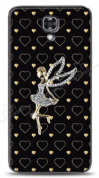 LG X screen Lovely Girl Taşlı Kılıf