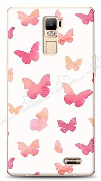 Oppo R7 Plus Kelebekler Kılıf