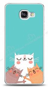 Samsung Galaxy A7 2016 Cat Family Kılıf
