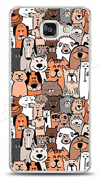 Samsung Galaxy A7 2016 Cats And Dogs Kılıf