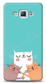 Samsung Galaxy A7 Cat Family Kılıf