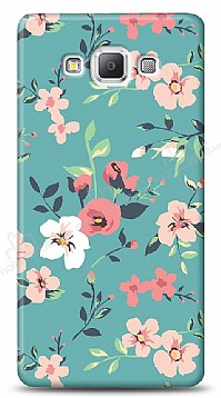 Samsung Galaxy A7 Çiçek Desenli 1 Kılıf