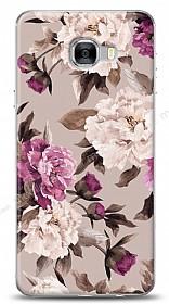 Samsung Galaxy C7 Pro Old Roses Kılıf