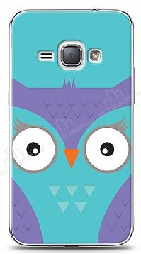 Samsung Galaxy J1 2016 Big Face Owl Kılıf