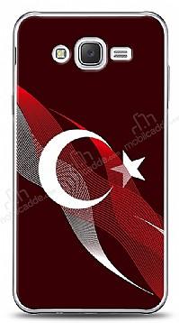 Samsung Galaxy J2 Bayrak Çizgiler Kılıf