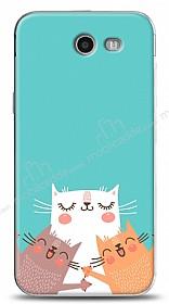 Samsung Galaxy J3 2017 Cat Family Kılıf