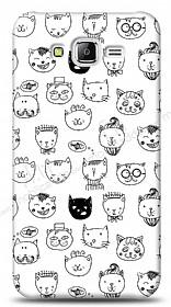 Samsung Galaxy J5 Cute Cats Kılıf