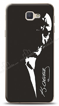 Samsung Galaxy J7 Prime Atatürk Silüet Kılıf